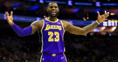 Lakers manejarán a LeBron con cautela