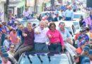 """El candidato presidencial encabezó este jueves una """"Juntadera con Gonzalo"""" junto a la candidata a alcaldesa por San Francisco de Macorís, Miledys Núñez, en respaldo a sus aspiraciones."""