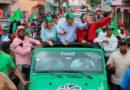 Leonel recorre las calles de San Pedro, donde lamenta la muerte Kobe