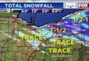 Los chubascos de nieve intensos pueden causar problemas de visibilidad para el viaje matutino; la nieve despeja a la hora del almuerzo