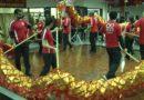 Los lugareños que celebran el Año Nuevo Lunar están preocupados por el brote mortal de virus en China