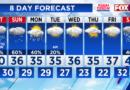 Mezcla invernal prevista el sábado por la mañana; temperaturas cuelgan en los años 40