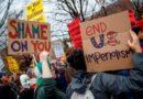 Miles de personas se manifiestan en 70 ciudades de EE.UU. contra ataq
