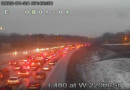 Video en vivo: Tráfico respaldado por millas debido a un accidente en la I-480 Este
