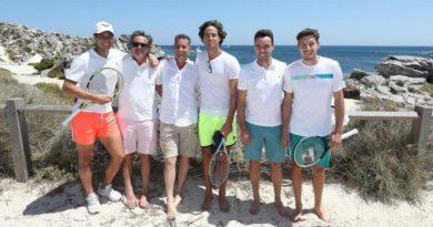 El equipo español visita Rottnest Island en vísperas del debut en Copa ATP