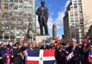 Castillo pide a dominicanos mantener progreso y desarrollo de RD logrados en gobiernos del PLD y Danilo durante ofrenda en la Plaza Duarte