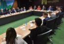 Misión francesa interesada en invertir en RD visita gobernador del Banco Central
