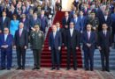 Presidente Danilo Medina rinde homenaje a Bandera Dominicana junto a Gabinete »