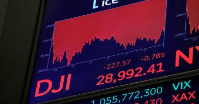 Wall Street abre en rojo y el Dow Jones se desploma casi 1.000 puntos por el temor al coronavirus