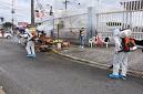 Desinfectan calles y puntos concurridos de Santo Domingo contra coronavirus »