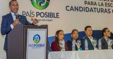 País Posible donará materiales sanitarios a 10 asilos de ancianos