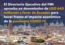 """El FMI asegura que la pandemia ha tenido """"un impacto"""