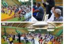 Ministro entrega ayuda a unos 90 deportistas en San Pedro –