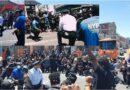 Policías de Nueva York y otras ciudades se arrodillan ante manifestantes