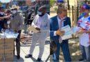 Polanco distribuye 15 mil mascarillas para protección de votantes