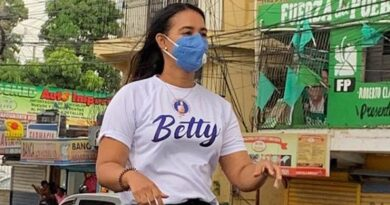 Betty Gerónimo es diputada más votada en Santo Domingo Norte, con 48% computado