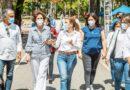 Carolina Mejía realiza encuentro en La Esperilla para tratar