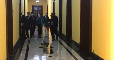 Lisandro Macarrulla y Gustavo Montalvo se reúnen para tratar transición
