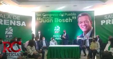 FP realizará congreso elector en marzo y llevará por nombre Manol