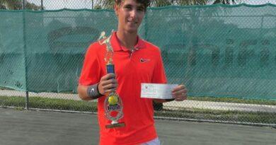 Peter Bertran campeón del Delray Prize Money Open de Tenis –