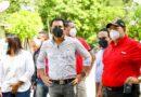 Roberto Ángel Salcedo realiza recorrido de solidaridad en Hato Mayo
