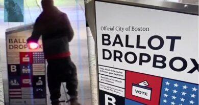 Urnas con cientos de votos por correo son quemadas en calles de Boston y detienen presunto fanático de Trump