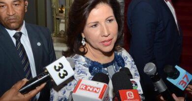 Margarita Cedeño está de acuerdo MP actúe frente a denuncias de cor