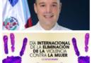 Senador José del Castillo dice lucha contra la violencia hacia la mujer debe ser una práctica día a día
