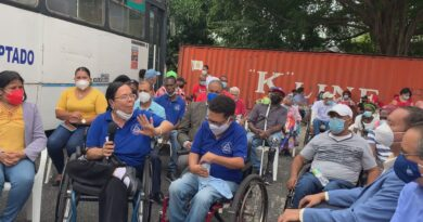 ASODIFIMO sensibiliza a funcionarios de Alcaldía SDO a propósito del Día Internacional de las Personas con Discapacidad
