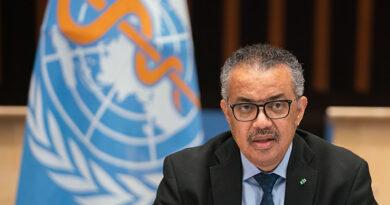 Jefe de la OMS advierte a Brasil por rebrote de la pandemia
