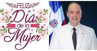 Senador José del Castillo dice las mujeres son el soporte de las familias en el mundo