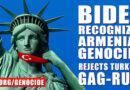 El presidente Biden rechaza la regla mordaza de Turquía y reconoce el genocidio armenio