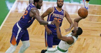 Kemba en una gran noche lleva a Boston a la victoria sobre Suns