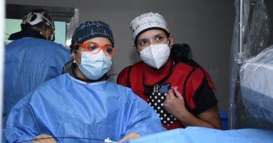 Equipo de Electrofisiología de Moderno- MCA, introdujeron por primera vez en República Dominicana el uso del Ecocardiograma intracardiaco