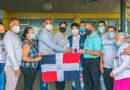 En Santiago reciben como héroe a Gimnasta Jabiel Polanco medallista Panamericano Juvenil