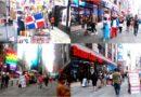Bandera dominicana despunta en resurgimiento de Times Square donde miles regresan en fase post pandémica