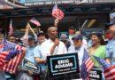 """""""Ganaré la alcaldía con el voto de los dominicanos"""" proclama Eric Adams en encuentro con periodistas en el Alto Manhattan"""