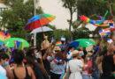 Cientos marchan en rechazo a la eliminación de artículos que prohíben la discriminación por orientación sexual del C.P.