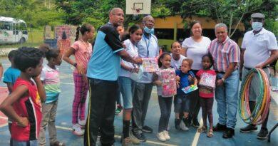 Dirección Provincial de Deportes en coordinación con el club Amor y Paz, realiza festival deportivo y recreativo en Los Ciruelos