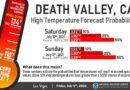 Ola de calor: aquí se mide 54,4 grados en el Valle de la Muerte en los Estados Unidos