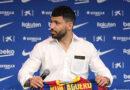 Kun Agüero alardea su dorsal en el Barcelona a través de redes sociales