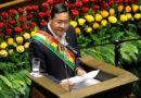"""Presidente de Bolivia afirma que no descansará en """"exigir"""" sanciones por el """"golpe de Estado"""" de 2019"""