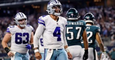Una aplanadora llamada Cowboys; paliza a Eagles en el cierre de la Semana 3 de NFL