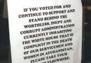 """""""Váyase a otra parte"""": propietaria de un restaurante en Florida rechaza la entrada de partidarios de Biden"""