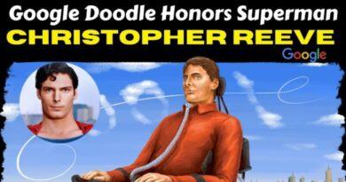 Google Doodle honra a Christopher Reeve, actor y humanitario de Superman