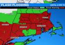 Advertencia de inundación repentina ya que los remanentes de Ida probablemente traigan hasta más de 5 pulgadas de lluvia durante la noche