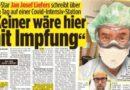 """""""Más cerca de la muerte que de la vida"""" – Jan Josef Liefers informa sobre la unidad de cuidados intensivos de Corona"""